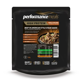Beef American Style - 31g protein