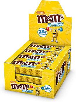M&M Protein bar x 12