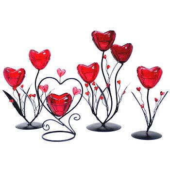 Hjärta Ljushållare