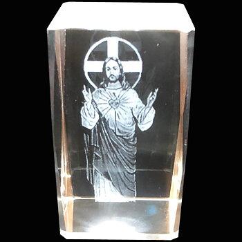 Kristallkub Jesus
