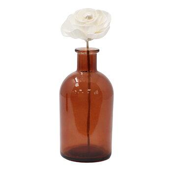 Ros - Doftpinne med blomma av sola wood