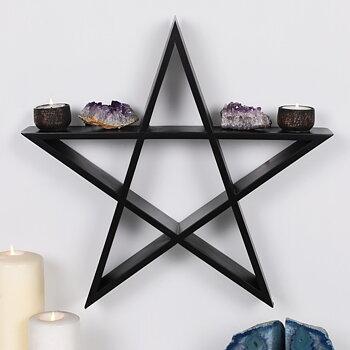 Pentagram Vägghylla