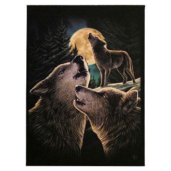 Vargar Canvastavla av Lisa Parker