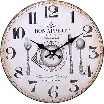 Väggklocka Bon appetit