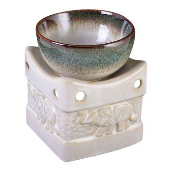 Aromalampa i keramik Elefanter