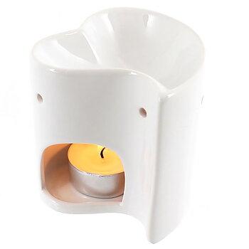 Aromalampa i keramik Hjärta