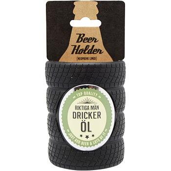 Riktiga män dricker öl - Ölhållare