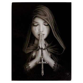 Gothic prayer Canvastavla av Anne Stokes