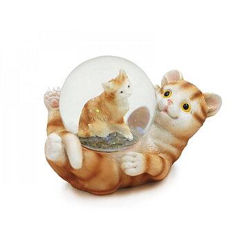 Snöglob Katt