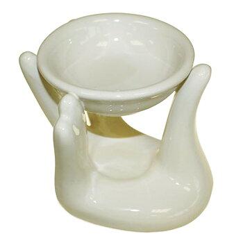 Aromalampa i keramik Hand