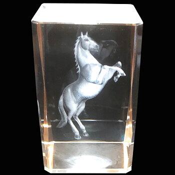 Kristallkub Häst