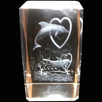 Kristallkub Delfiner