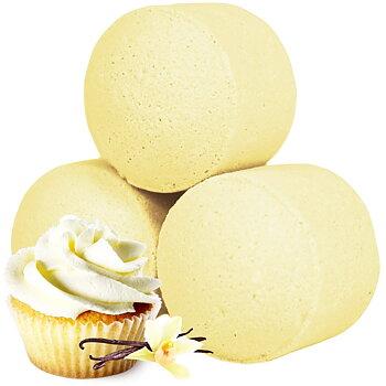 Minibadbomb Vanilla cup cake 3-pack
