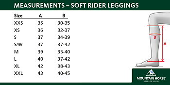 Mountain Horse Softrider Leggings - vuxen