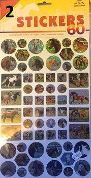 HKM Glitter Stickers