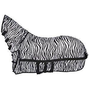 Hansbo Flugtäcke med combohals Zebra