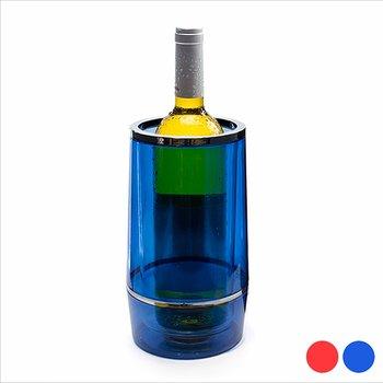 Transparent flaskhållare (75 cl) 143833, Färg: Röd
