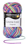 Catania Color - Blå/Lila melerat