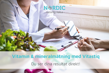 Vitamin & mineralmätning upp till 30 värden