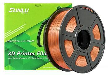 Sunlu - PLA (1.75mm, 1 Kg) - Koppar-Silke