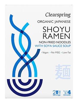 Ramen nudlar (Shoyu) sojasås (2x105g) x5,EKO