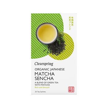 Organic Japanese Matcha Sencha 20p x4, EKO