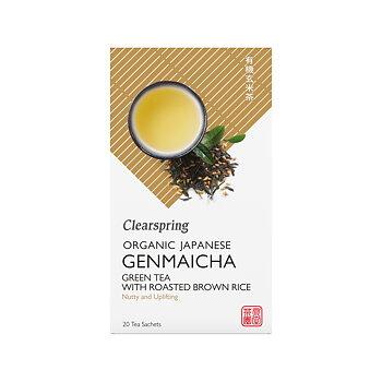 Organic Japanese Genmaicha 20p x4, EKO