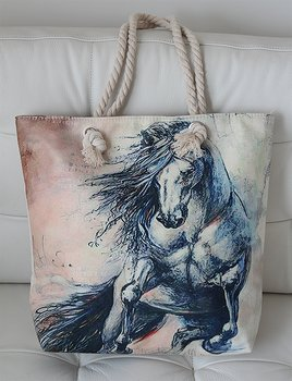 Canvasbag Rising horse