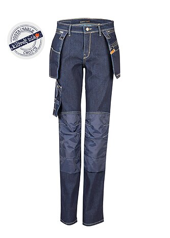 Debbie Denim Worker Pants - women's work trousers