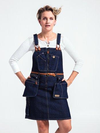 Työmekko – Flora Worker Bib dress