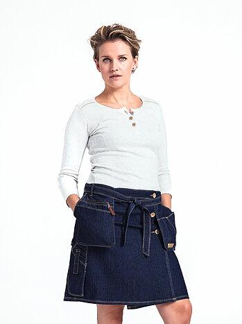 Snickarkjol dam - Flora Wrap skirt