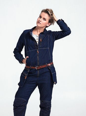 Flora Coverall - women's work overalls