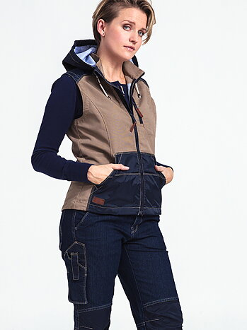 Arbetsväst dam - Flora Worker vest