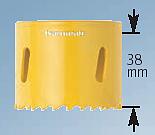 HÅLSÅG 220mm Bi-Metall