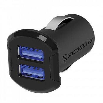 SCOSCHE REVOLT™ - DUAL USB Adapter (2x2.4A)