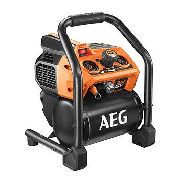 AEG Dual 18V Kolborstfri Kompressor