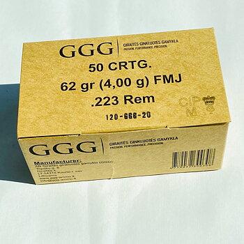 GGG .223Rem FMJ 62gr
