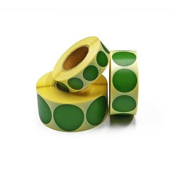 Täcklappar gröna 20mm 1000st