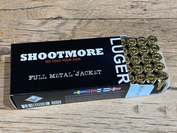 SHOOTMORE 9x19 FMJ 124gr