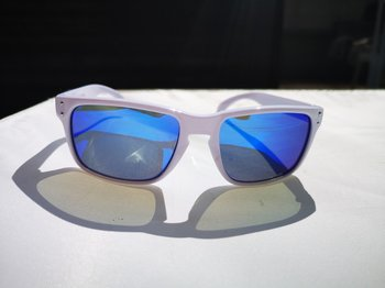 Solbriller | Hvit/blå