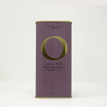 Elias' Signature Olive Oil 500ml - 100% Koroneiki Kalamata PDO [Skörd 11/2019]