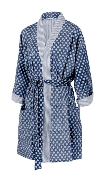 Short Kimono | Navy Blue