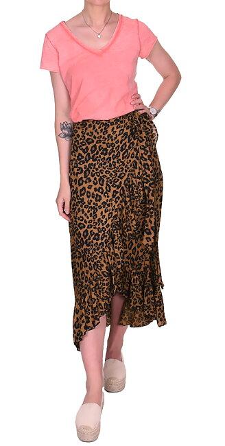 Kjol Dani | Leopard Dark