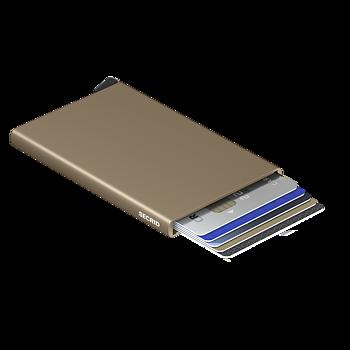 Secrid - cardprotector, den skimmingfria korthållaren, sand.