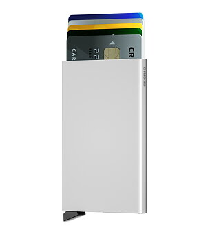Secrid - cardprotector, den skimmingfria korthållaren, silver.