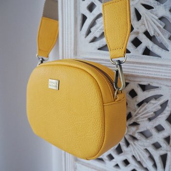 Crossover väska SOLAR MINI CROSS BAG YELLOW - Pipols Bazaar