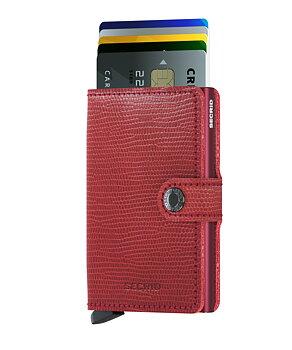 Secrid - plånboken som är RFID säker. Bordeaux.