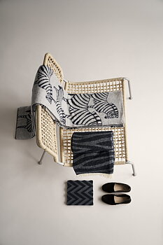 Zebra ullfilt by  Lisa Larson / Klippan Yllefabrik