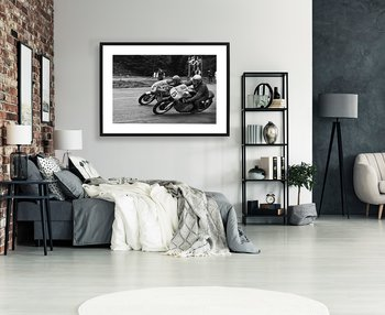 Poster Roadracing By History art