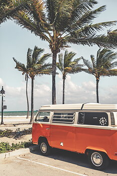 Poster Fort Lauderdale Beacher Miami by Mujo